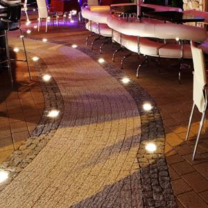 Светодиодная LED тротуарная плитка
